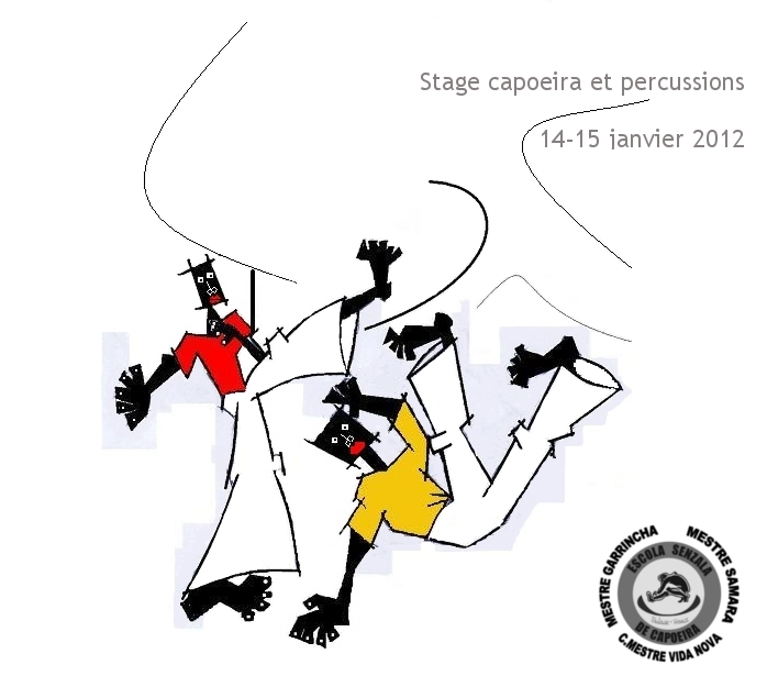 stage capoeira percus 2012 toulouse